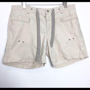 Columbia Sportswear Khaki Ivory Casual Shorts M